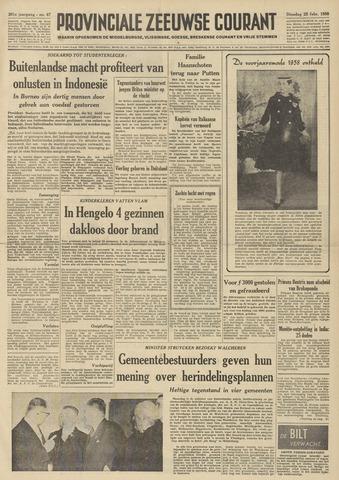 Provinciale Zeeuwse Courant 1958-02-25