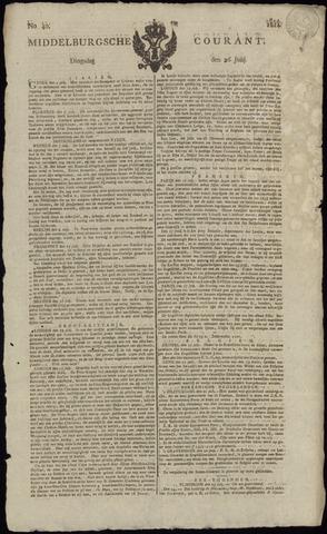 Middelburgsche Courant 1814-07-26