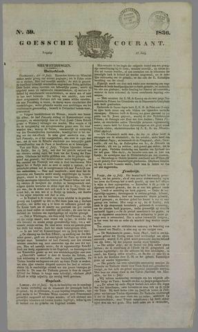 Goessche Courant 1836-07-22