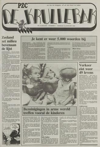 Provinciale Zeeuwse Courant katern Krullenbak (1981-1999) 1989-01-10