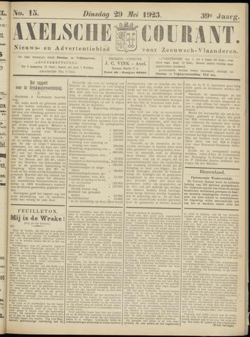 Axelsche Courant 1923-05-29