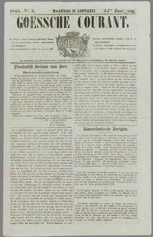 Goessche Courant 1865-01-16