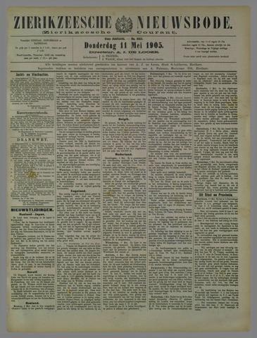 Zierikzeesche Nieuwsbode 1905-05-11