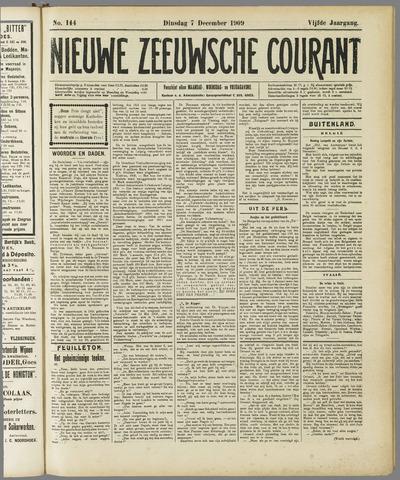 Nieuwe Zeeuwsche Courant 1909-12-07