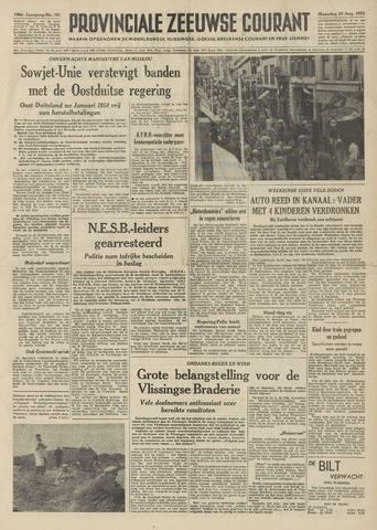 Provinciale Zeeuwse Courant 1953-08-24