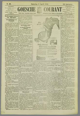 Goessche Courant 1924-04-05