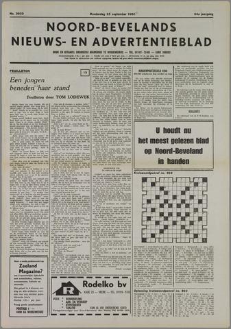 Noord-Bevelands Nieuws- en advertentieblad 1980-09-25