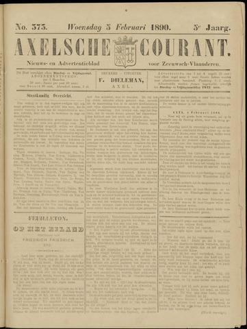 Axelsche Courant 1890-02-05