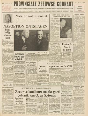 Provinciale Zeeuwse Courant 1966-02-22