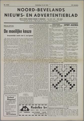 Noord-Bevelands Nieuws- en advertentieblad 1982-07-22