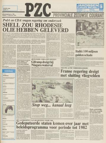 Provinciale Zeeuwse Courant 1978-08-11