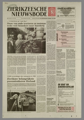 Zierikzeesche Nieuwsbode 1993-07-05