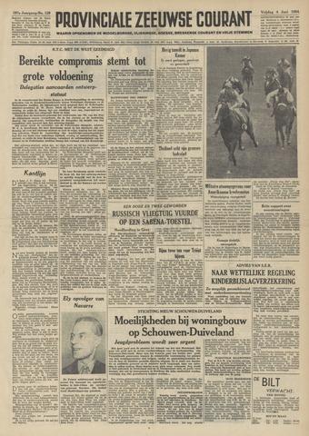 Provinciale Zeeuwse Courant 1954-06-04