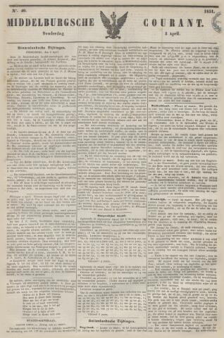 Middelburgsche Courant 1851-04-03