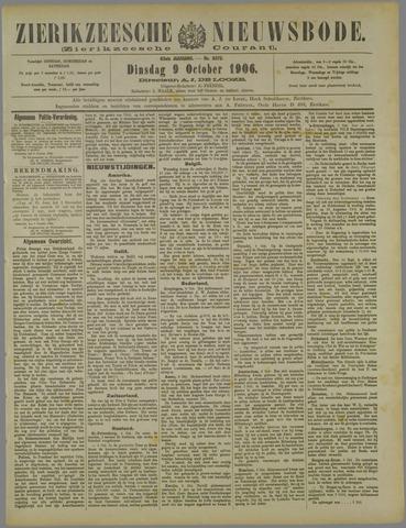 Zierikzeesche Nieuwsbode 1906-10-09