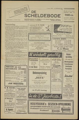 Scheldebode 1952