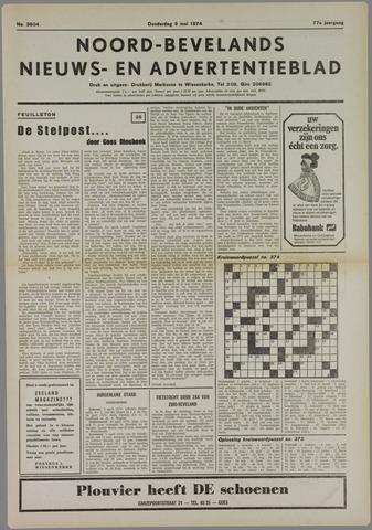 Noord-Bevelands Nieuws- en advertentieblad 1974-05-09