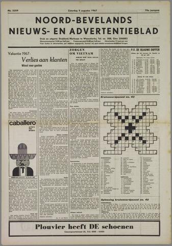 Noord-Bevelands Nieuws- en advertentieblad 1967-08-05