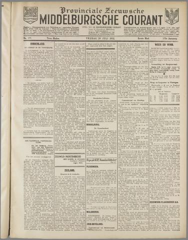 Middelburgsche Courant 1932-07-29