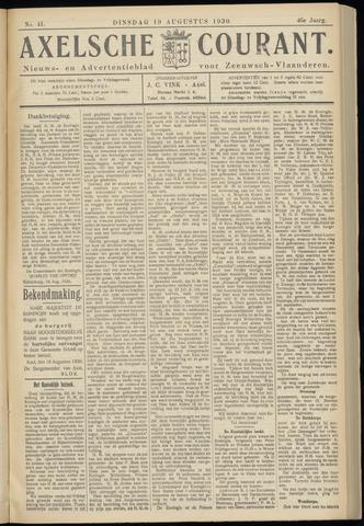 Axelsche Courant 1930-08-19