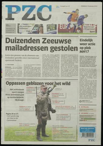 Provinciale Zeeuwse Courant 2014-10-14
