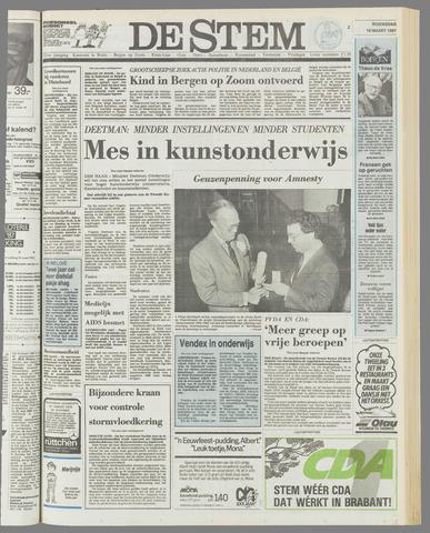 de Stem 1987-03-18