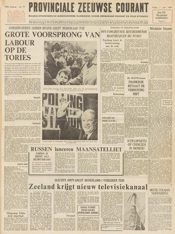 Provinciale Zeeuwse Courant 1966-04-01