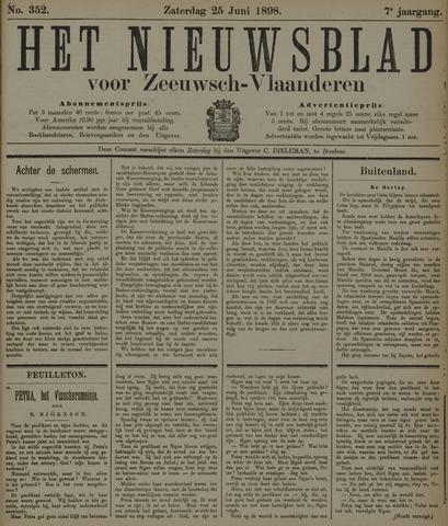 Nieuwsblad voor Zeeuwsch-Vlaanderen 1898-06-25