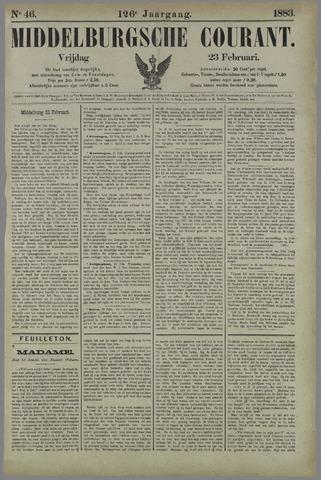 Middelburgsche Courant 1883-02-23