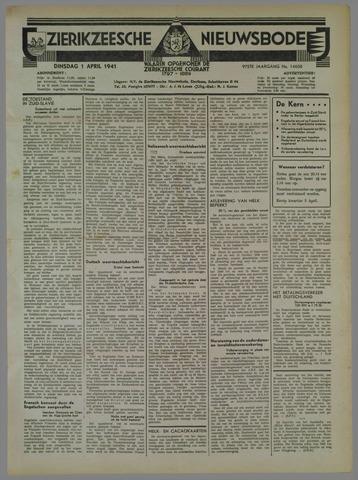 Zierikzeesche Nieuwsbode 1941-04-01