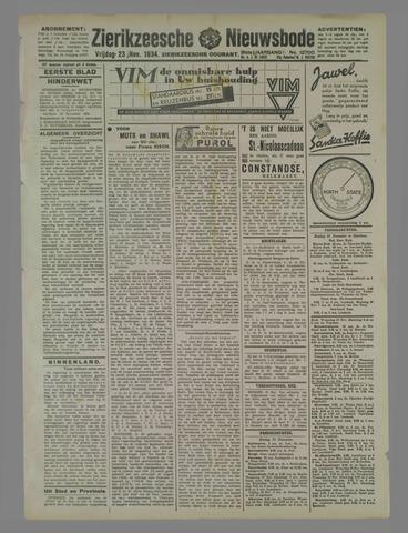 Zierikzeesche Nieuwsbode 1934-11-23