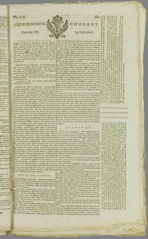 Middelburgsche Courant 1810-09-29
