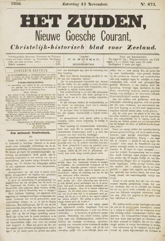 Het Zuiden, Christelijk-historisch blad 1880-11-13