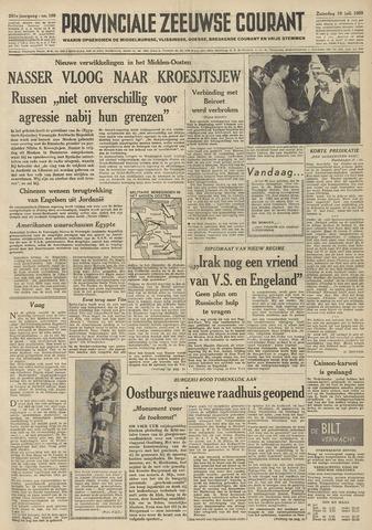 Provinciale Zeeuwse Courant 1958-07-19