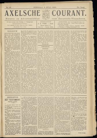 Axelsche Courant 1935-07-09