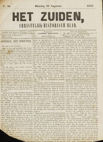 Het Zuiden, Christelijk-historisch blad 1876-08-29