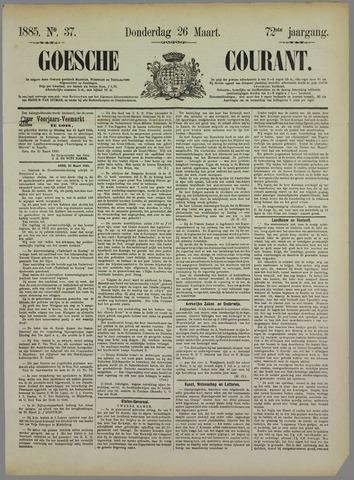 Goessche Courant 1885-03-26