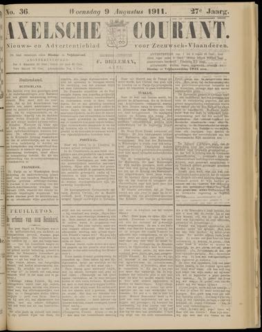 Axelsche Courant 1911-08-09