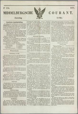 Middelburgsche Courant 1871-05-13