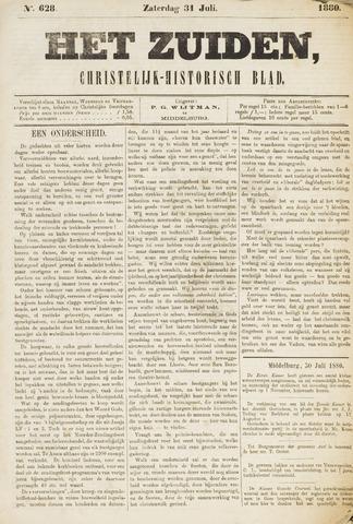 Het Zuiden, Christelijk-historisch blad 1880-07-31