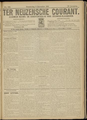 Ter Neuzensche Courant. Algemeen Nieuws- en Advertentieblad voor Zeeuwsch-Vlaanderen / Neuzensche Courant ... (idem) / (Algemeen) nieuws en advertentieblad voor Zeeuwsch-Vlaanderen 1915-12-09