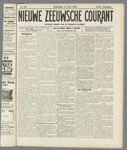 Nieuwe Zeeuwsche Courant 1907-07-18