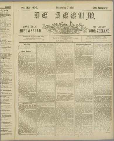 De Zeeuw. Christelijk-historisch nieuwsblad voor Zeeland 1906-05-07