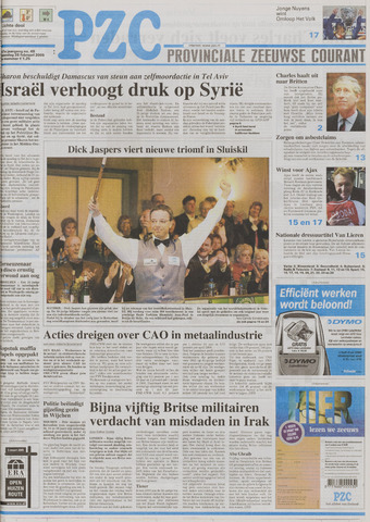 Provinciale Zeeuwse Courant 2005-02-28