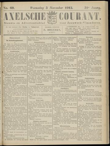 Axelsche Courant 1915-11-03