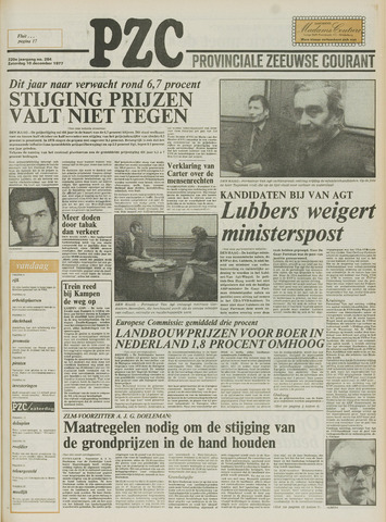 Provinciale Zeeuwse Courant 1977-12-10