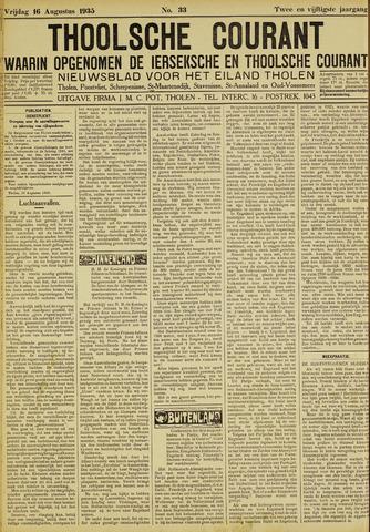 Ierseksche en Thoolsche Courant 1935-08-16