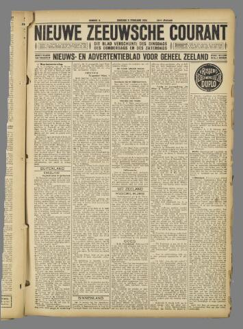 Nieuwe Zeeuwsche Courant 1924-02-05