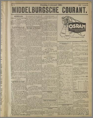 Middelburgsche Courant 1921-01-04