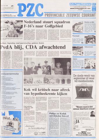 Provinciale Zeeuwse Courant 1990-09-19